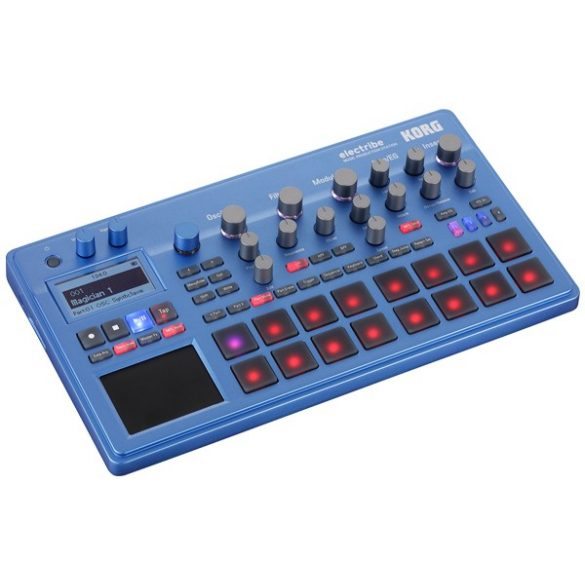 Korg ELECTRIBE Groovebox/szintetizátor, zenei munkaállomás - Kék