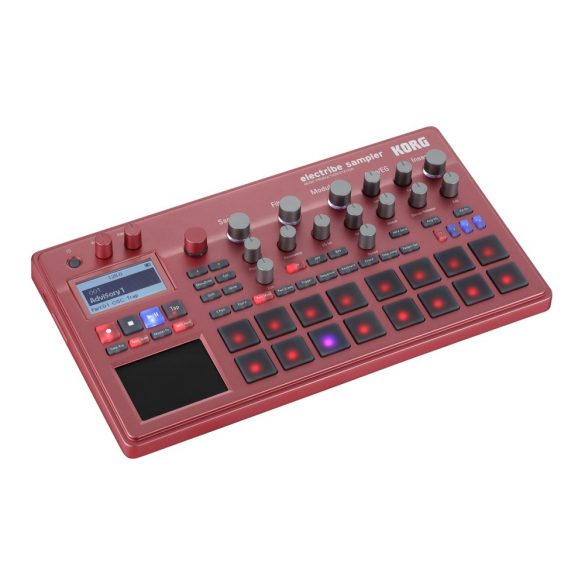 Korg ELECTRIBE Sampler groovebox/szintetizátor - Piros