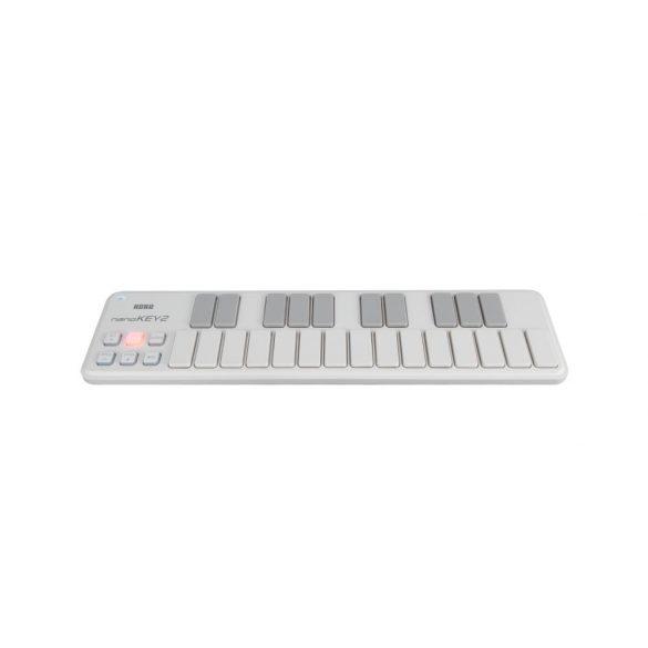 KORG NANOKEY2-WH, 25 billentyűs USB MIDI-vezérlő, fehér