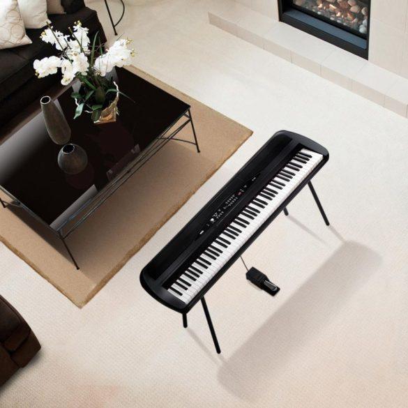 Korg SP-280 Digitális zongora, láb+hangszóró - Fekete