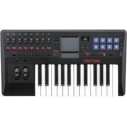 Korg Triton TAKTILE25, szintetizátor és USB MIDI billentyűzet/kontroller, 25 billentyű