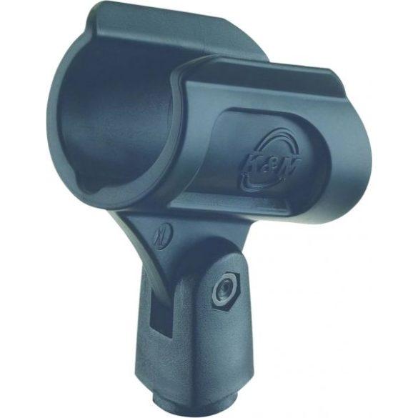 König & Meyer mikrofon kengyel – 34-40 mm, rugalmas gumiból, 3/8'' csavarral, fekete