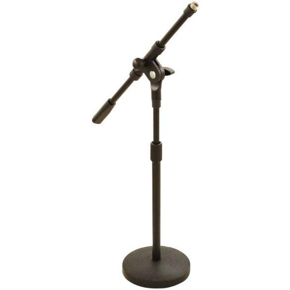 LK-918B Gémes mikrofonállvány, körtalpas, alacsony