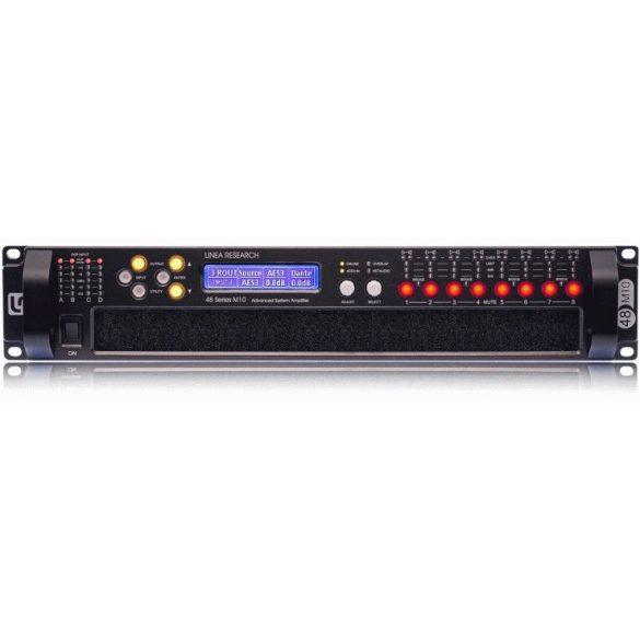Linea Research 44M10 DSP-s erősítő, 4in/4out, 4x2500W@ 2ohm