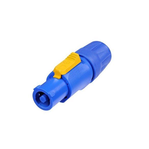Neutrik NAC3FCA Powercon A dugó (kék) bemeneti csatlakozó
