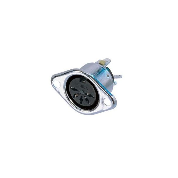 Neutrik REAN NYS325 DIN aljzat 5 pólusú, beépíthető, fémházzal