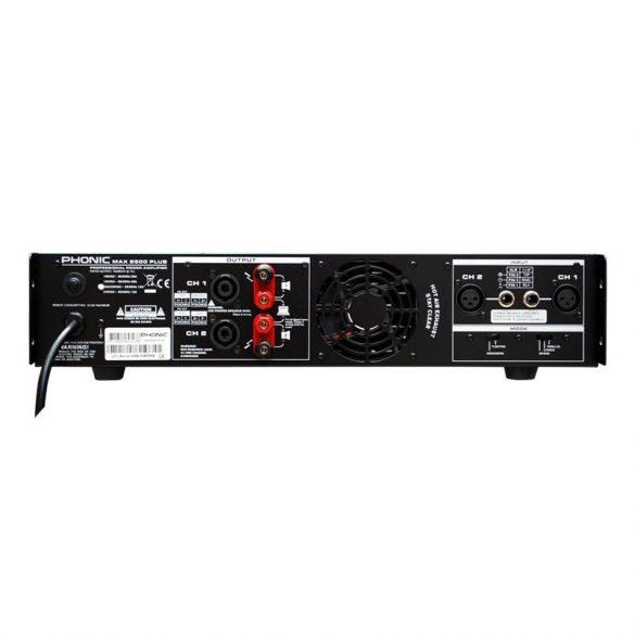 Phonic MAX2500 Plus Végerősítő, 2x750W/4Ohm