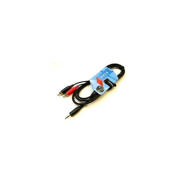 PROEL BULK540LU18 Y kábel 2xRCA – 3,5 st jack, 1,8m
