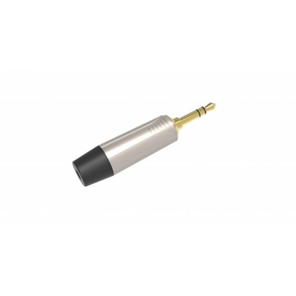 DIE HARD ONEHERO 3.5mm sztereó jack dugó, szerelhető, nikkel
