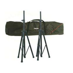 Proel FRE-300 KIT – Hangfalállvány pár FRE300BK, hordtáskában