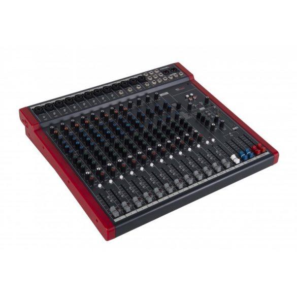 Proel MQ16USB Analóg keverő, 16 bemenet, beépített effekt, USB