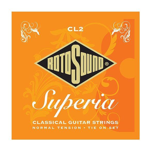 Rotosound CL2  klasszikus gitár húrkészlet, nylon/ezüst, normál feszítés
