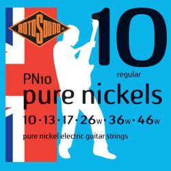 Rotosound PN10 Nikkel elektromos gitár húrkészlet, 10 13 17 26 36 46