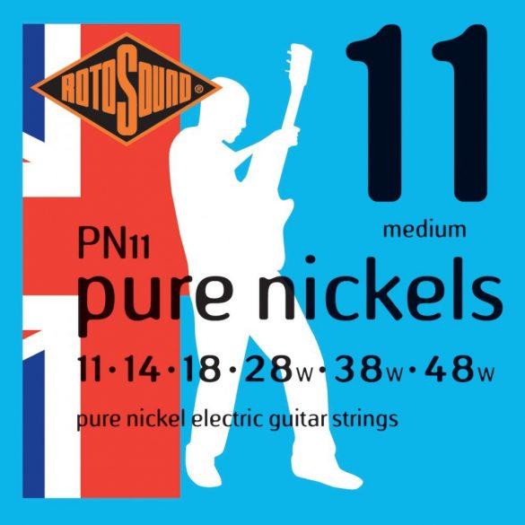 Rotosound PN11 Nikkel elektromos gitár húrkészlet, 11 14 18 28 38 48