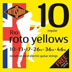 Rotosound nikkel elektromos gitár húrkészlet, regular, 10 13 17 26 36 46