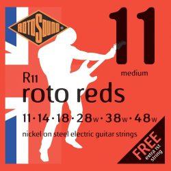 Rotosound nikkel elektromos gitár húrkészlet, medium, 11 14 18 28 38 48