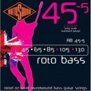 Rotosound RB 45-5 basszusgitár húrkészlet, nikkel, 5 húr, 45 65 85 105 130