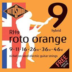 Rotosound RH9 Nikkel elektromos gitár húrkészlet, hybrid, 9 11 16 26 36 46