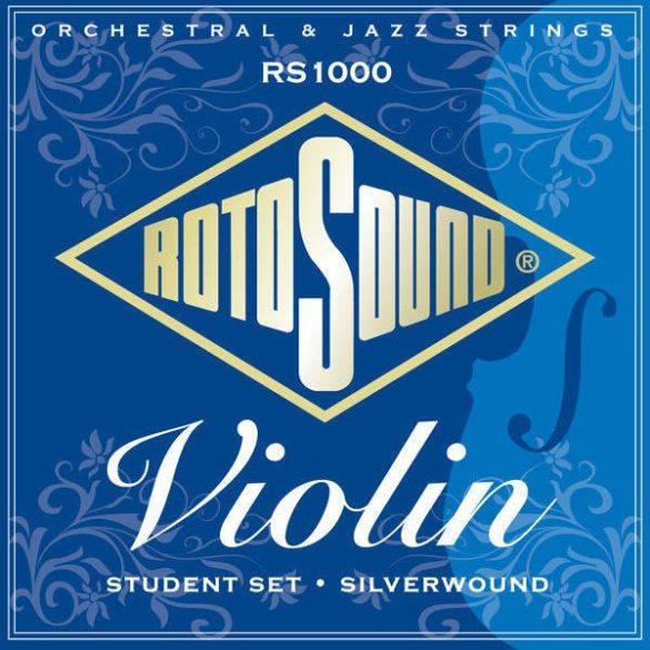 RotoSound RS1000 Hegedű húrkészlet, ezüst, fonott