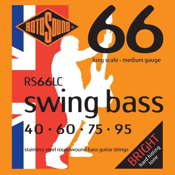 Basszusgitár húrkészlet, rozsdamentes acél, 40 60 75 95