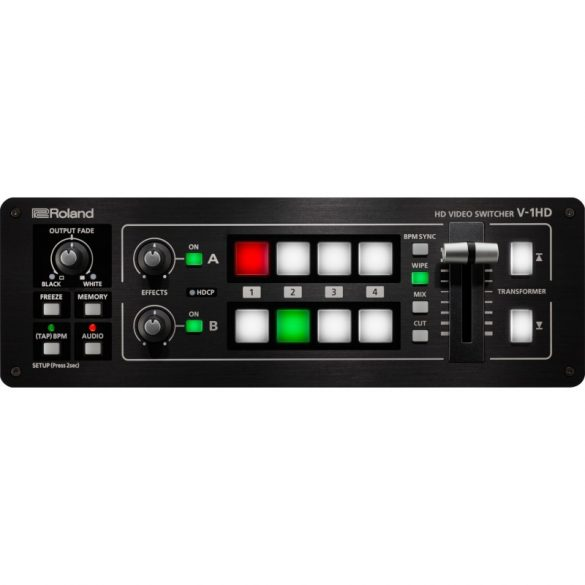 Roland V-1HD, 4 Csatornás HD-HDMI Video Switcher, 720P/1080I/1080P FORMAT