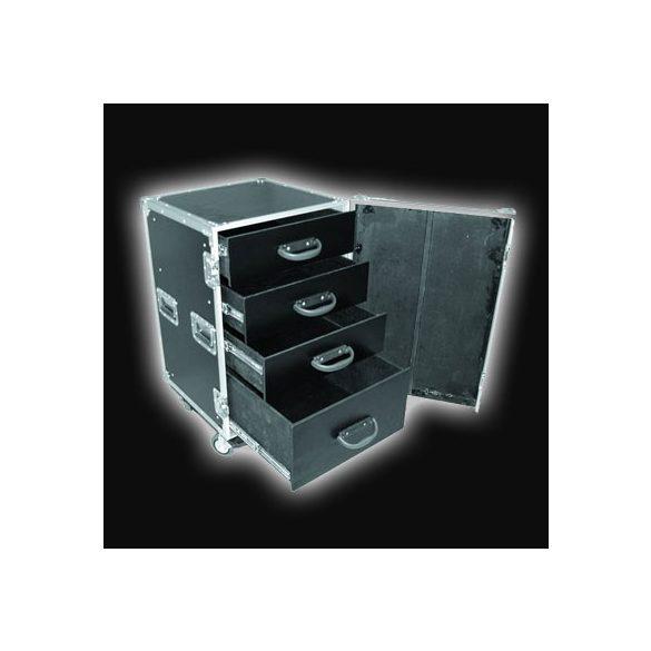 Robust DR-001 4 fiókos, kábeles, kerekes konténer