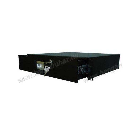Robust RD-3UA zárható rack fiók 3U magas