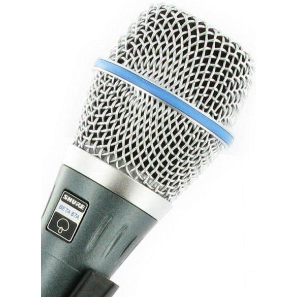 Shure BETA87A Kondenzátor vokálmikrofon - Garantáltan eredeti!
