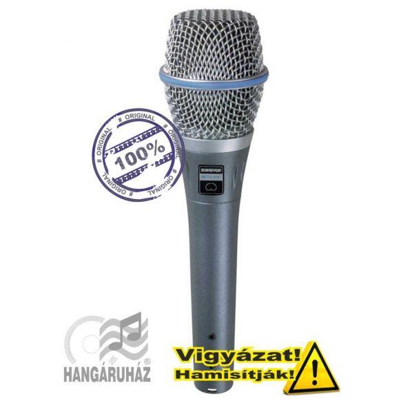 Shure BETA87C Kondenzátor vokálmikrofon - Garantáltan eredeti!
