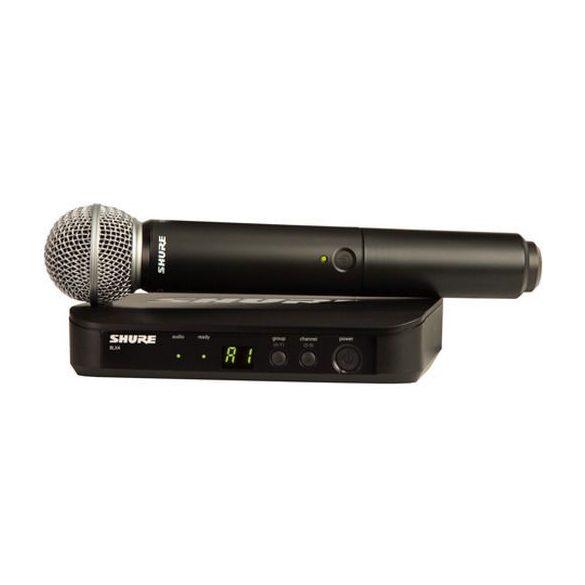 Shure BLX24/SM58 vezetéknélküli vokál szett SM58-as fejjel