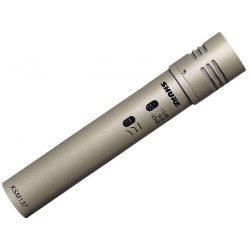Shure KSM137/SL Stúdió kondenzátor mikrofon, kardioid karakterisztika, pezsgőszínű, mikrofontartó, szélzsák, tok