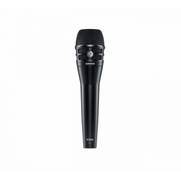 Shure KSM8 Dualdyne ™ énekmikrofon - Fekete
