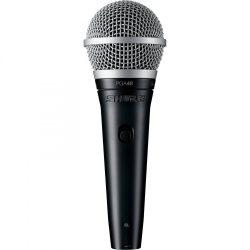 Shure PGA48XLR dinamikus vokál mikrofon kapcsolóval, XLR-XLR kábellel