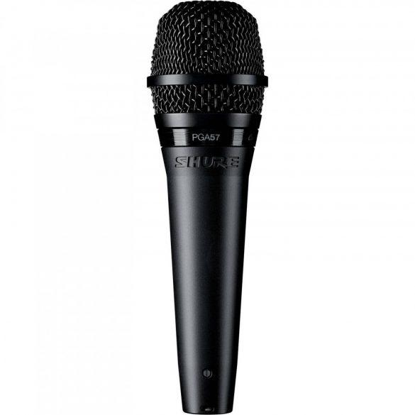 Shure PGA57XLR kardioid dinamikus hangszermikrofon
