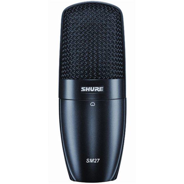 Shure SM27 nagymembrános kondenzátormikrofon