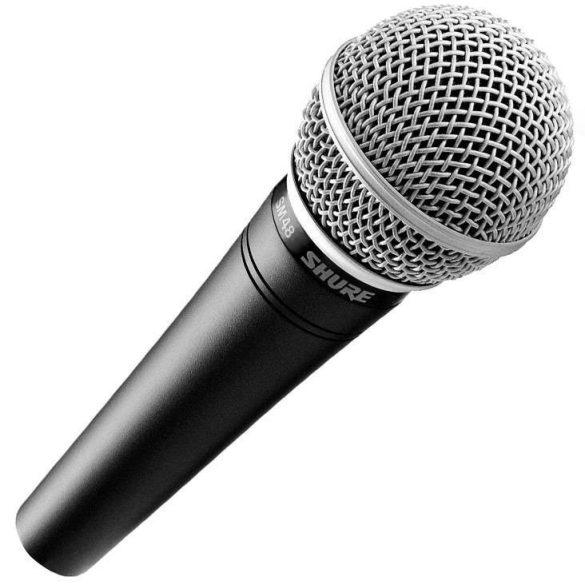 Shure SM48-LC Dinamikus vokálmikrofon
