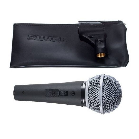 Shure SM48S-LC Dinamikus vokálmikrofon - Kapcsolóval