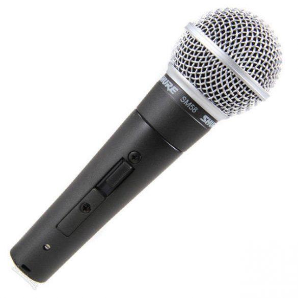 Shure SM58-SE Vokálmikrofon, kapcsolóval