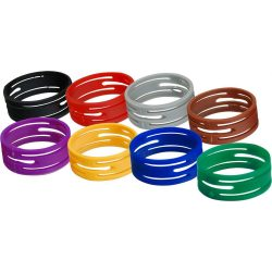 Csatlakozó jelölő gyűrű (10db/csomag) Seetronic és Neutrik NC3*XX XLR-hez több színben