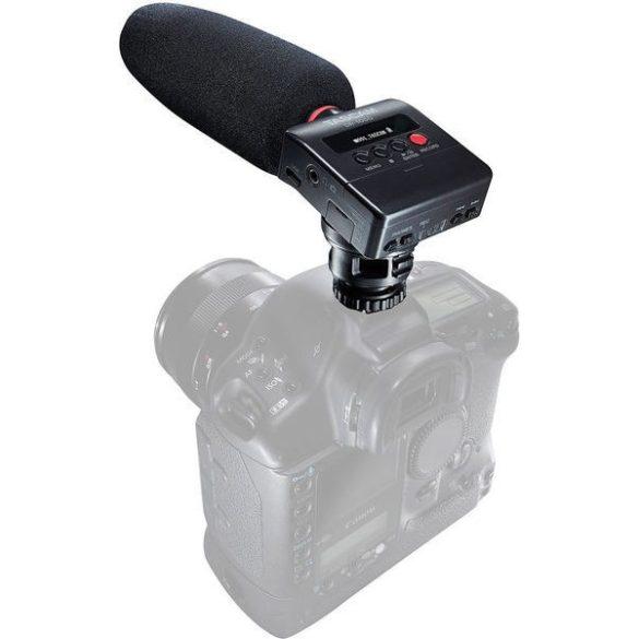 Tascam DR-10SG, DSLR videózáshoz készült, monó hangrögzítő