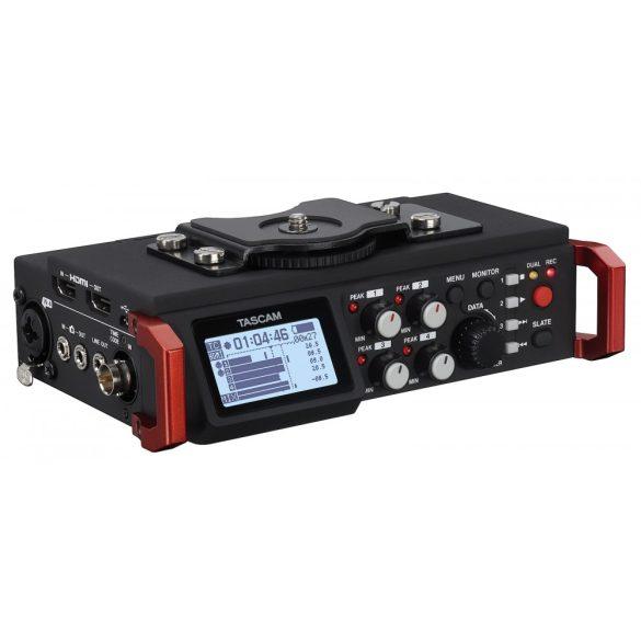 Tascam DR-701D, Professzionális, 6 csatornás rögzítő DSLR kamerákhoz
