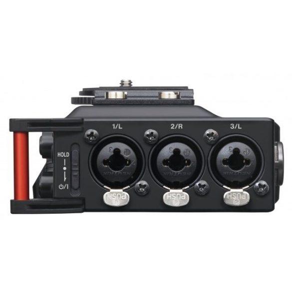 Tascam DR-70D, 4+2 csatornás rögzítő DSLR kamerákhoz