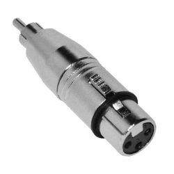 Voice-Kraft ADA-012 RCA(p) - XLR(m) átalakító aszimmetrikus