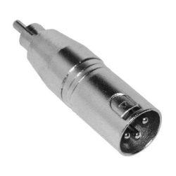 Voice-Kraft ADA-013 RCA(p) - XLR(p) átalakító aszimmetrikus
