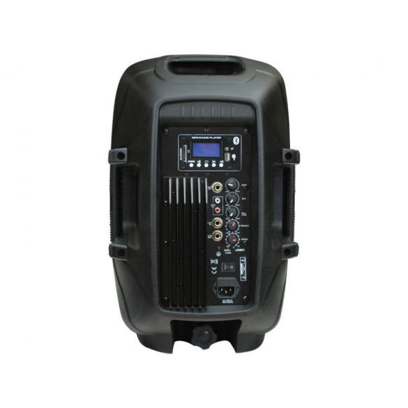 "Voice Kraft LK-1679-2-10B Aktív műa. hangfal, 10"", 150 W, FM rádióval, MP3, Bluetooth, passzív hangfal kimenet"