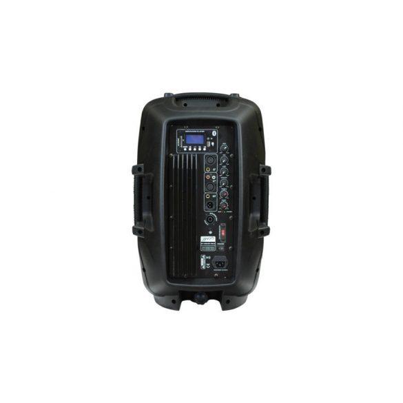 Voice-Kraft LK-1679-2-12B Aktív műa. hangfal,12″, 200/300W FM rádióval, MP3, távirányító, Bluetooth, passzív hangfal kimenet