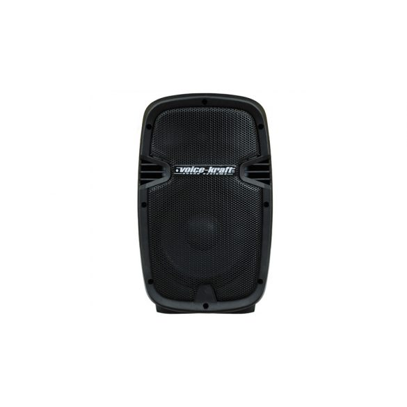 Voice-Kraft LK-1679-2-8B Aktív műa. hangfal, 8″, 120 W, FM rádióval, MP3, távirányító, Bluetooth, passzív hangfal kimenet