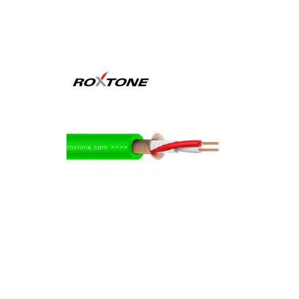 Roxtone MC002 zöld Ø 6mm mikrofonkábel