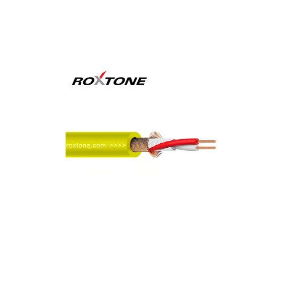 Roxtone MC002 Sárga Ø 6mm mikrofonkábel