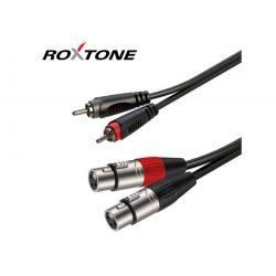 ROXTONE RACC170L3 2xXLR(m) - 2xRCA kábel, 3m